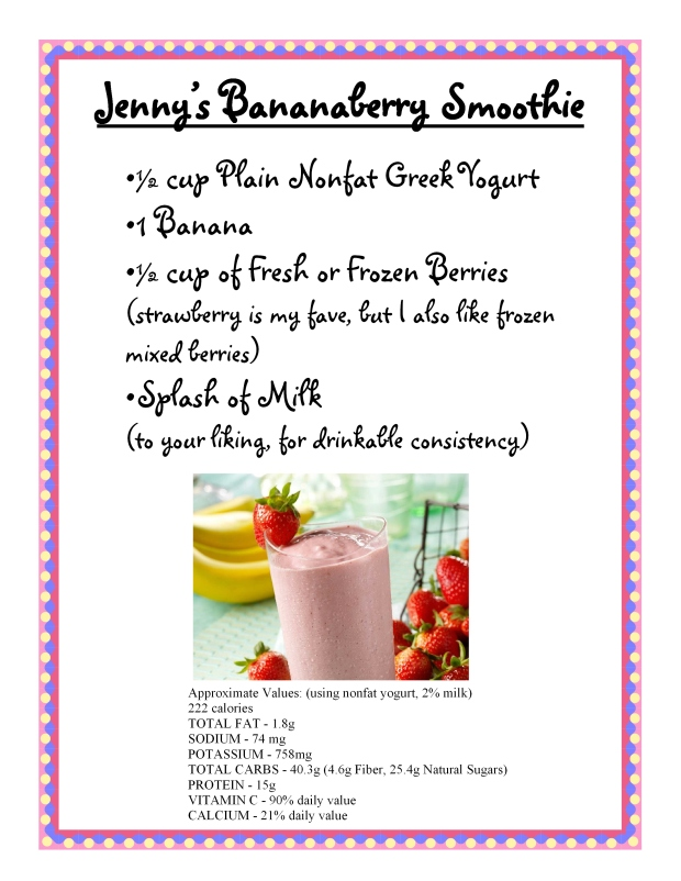 bananaberry smoothie recipe