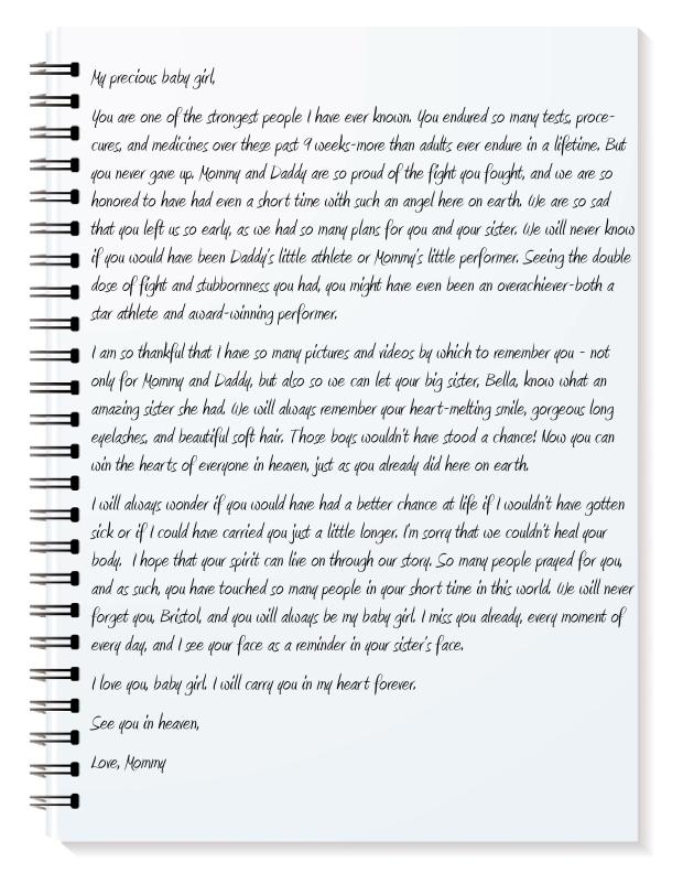 letter to Bristol