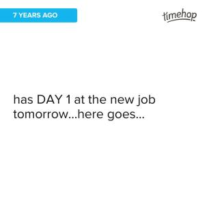 new job in 2009a